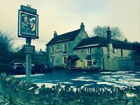 Staff needed in quaint country pub. Usual variety of shifts to include some evenings and weekends
