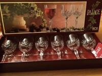 Palace royal crystal rock 6 glasses
