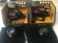 Wychwood Solace 55FS compact Big Pit bait runner reels