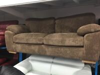 New Ex Display - dfs CORD 3 Seater Sofa