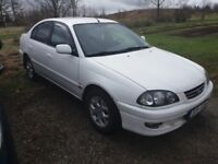 Lhd Toyota Avensis Left hand drive