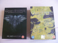 DVD GAME OF THRONES. SERIES ONE to FOUR. COLLECTORS SETS.
