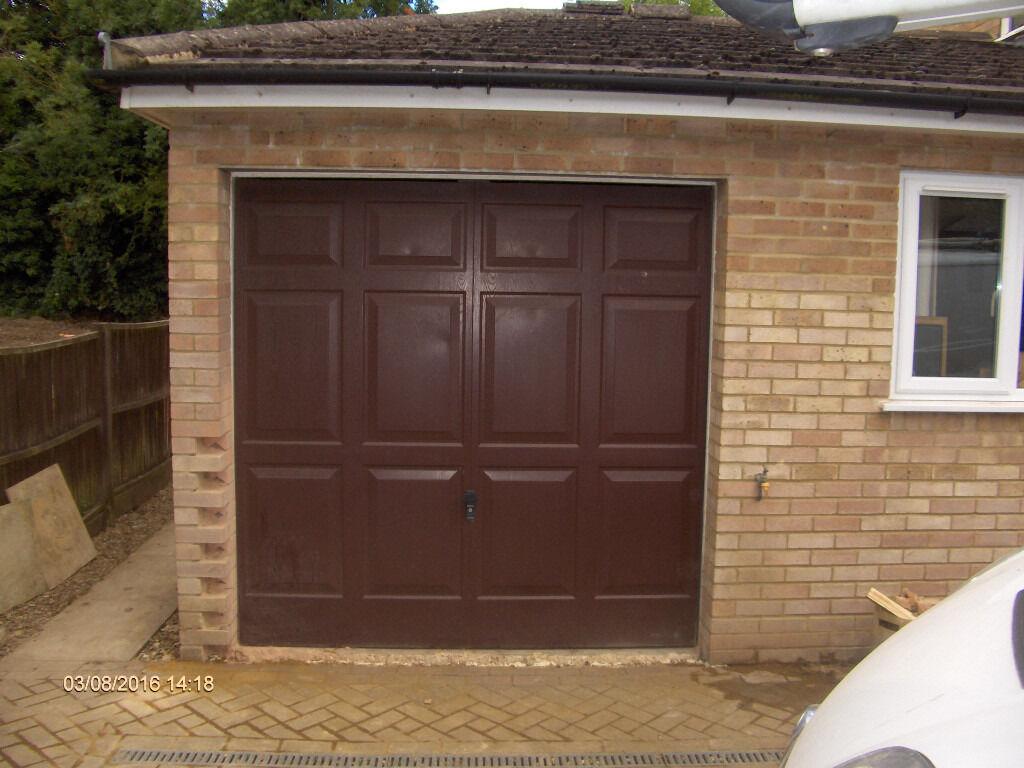Single Garage Door Fittings Cardale Georgian Up Over In