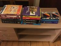 *Gone pending pick up* Various older study student science books lots of useful info