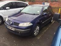 Renault Megane 1.5 diesel - spares or repairs - needs attention