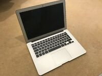 Macbook Air 13-inch Early 2015 8GB RAM, 256 GB STORAGE -MacOS Sierra Free Case Seller Refurbished