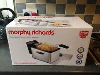 Morphy Richards Professional 3l deep fryer - Brand new