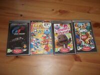 PSP games x 4