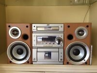 Micro HiFi systems for sale (JVC UX-P55) and (Sony CMT-M70) Both very good condition.