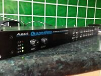 ALESIS QUADRAVERB DIGITAL EFFECTS PROCESSOR - FOR SPARES OR REPAIR