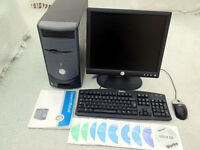 "Dell Dimension 3000 Desktop Computer with 17"" LCD Screen, keyboard and mouse"