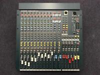 Allen and Heath MixWizard WZ3 14:4:2 analogue mixing desk mixer console