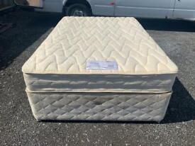 Double Divan Bed Base 4 Draws and Mattress