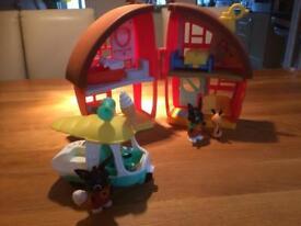 Bing toys - house and ice cream van