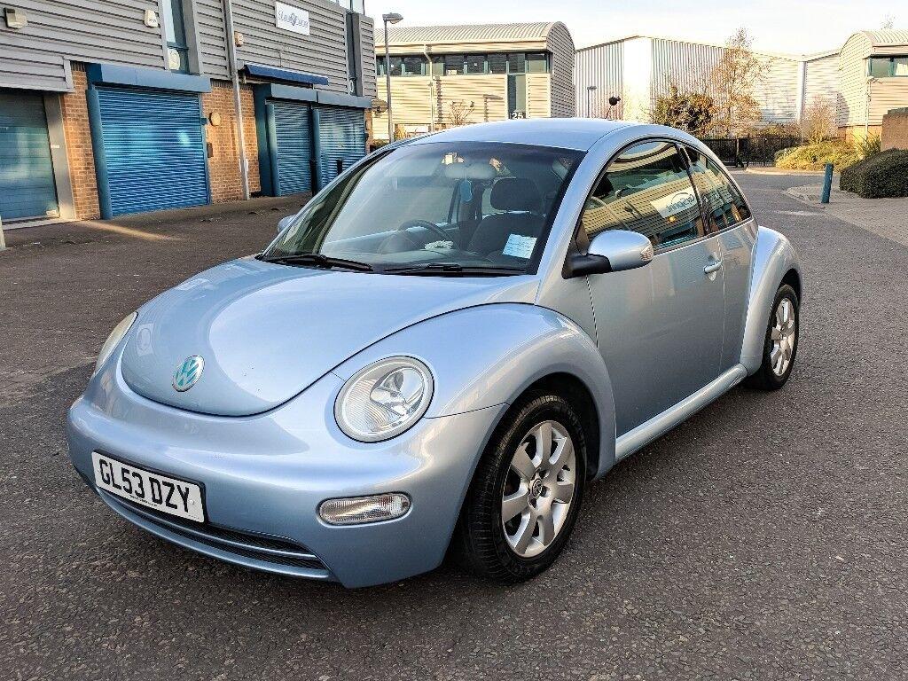2003/53 VW Beetle 2.0 Petrol Manual
