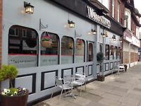 EXPERIENCED WAITING STAFF WANTED IN AN ITALIAN RESTAURANT