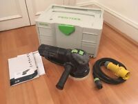 Festool ROTEX RO 150 FEQ-Plus GB 110V Geared eccentric (random orbital) sander/polisher (RRP: £560)
