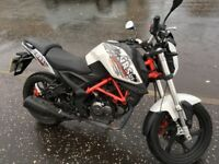 Ksr Moto GRS 125 cc . Great condition no road tax or mot will pass no problem