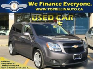 2012 Chevrolet Orlando LT 1 OWNER, BLUETOOTH, 48K kms