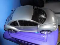 SILVER VGC CD/RADIO BEETLE CAR