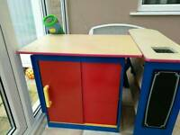 Kids play kitchen/shop