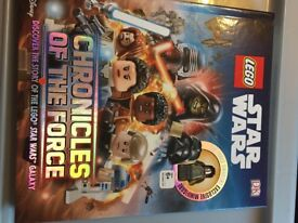LEGO STAR WARS BOOK CHRONICLES OF THE FORCE NEW
