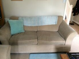 Two medium 2-seater sofas Marks and Spencer Abbey neutral colour
