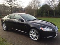 2009 Jaguar XF 3.0 TD V6 Portfolio Automatic Paddle shift gears on steering Fsh
