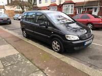 Vauxhall zafira 1.8 7 Seater