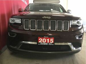 2015 Jeep Grand Cherokee Summit - EXTENDED WARRANTY INCLUDED!!! Oakville / Halton Region Toronto (GTA) image 3