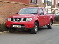 Nissan Navara 2.5 DCI King Cab D40 (2006/06 Reg) + 4X4 + GENUINE 138K + FSH + 1 OWNER FROM NEW +