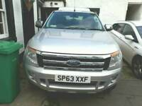 Ford Ranger with Truckman canopy