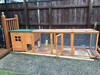 Rabbit hutch/chicken coop