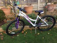 LADIES/GIRLS BICYCLE. Mountain bike style. NEW CONDITION. 16 gears.