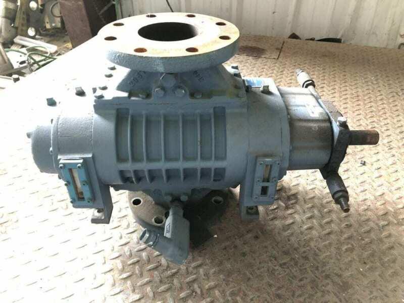 Tuthill Kinney MB 400 Rotary Lobe Vacuum Booster Pump / Blower