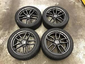"""18"""" Flow Forged Wheels 5x112 and Winter Tires 245/40R18 (Audi Cars)"""