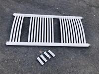 Towel Rail Radiator white 500X1200 will wall fittings