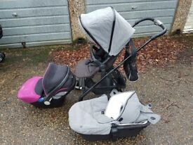 Silvercross wayfarer eton grey Buggy limited edition