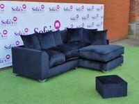 Brand New Dylan Premium Plush Sofas 3+2 / Corner Sofa / Swivel Chair / Footstool