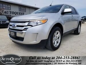 2011 Ford Edge SEL - ACCIDENT FREE! BLUETOOTH, HTD SEATS & MORE!