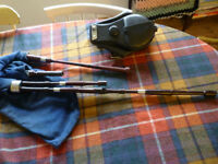 Border Pipes, Scottish Lowland Pipes, Lauriebeck drones and Garvie chanters, Key of A