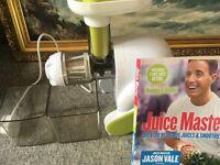 Juicer & book