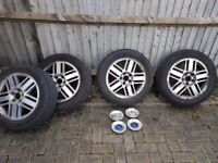 Ford Focus wheels and tyres - 205/55ZR16 - Great tyres!