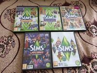 The Sims 3 With Four Expansion Packs