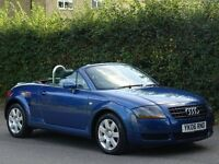 2006 (06) Audi TT 1.8 T Roadster 2dr - CONVERTIBLE - CAMBELT CHANGED