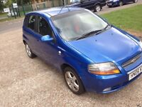 Chevrolet Kalos 2006 very clean and low mileage family car