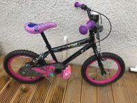 """Girls Tinkerbell bike 16"""""""