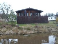 Stunning Log Cabin for sale at Percy Wood Country Park near Alnwick in Northumberland
