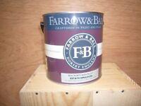 Farrow and Ball Emulsion.