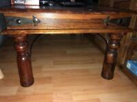 Indian style coffee table